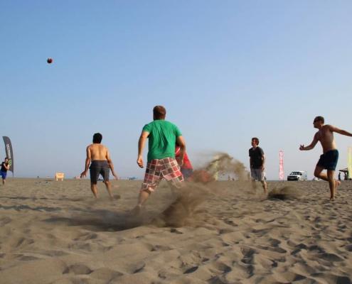 kitesurfen, montenegro, kiteschule, kiteriders, beachsoccer, beachvolleyball