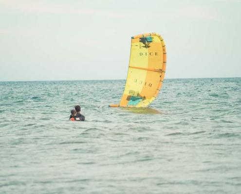 duotone, kitesurfen, montenegro, kiteschule, stehbereich, flachwasser